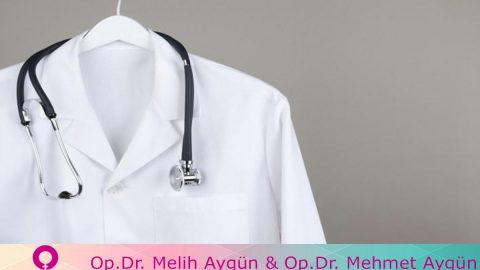 Doktorun sembolü  Beyaz önlük