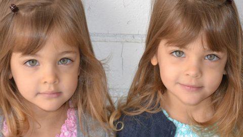 Güzellikleri ile dikkat çeken ikizlerin kariyer planları için ailenin gösterdiği destek