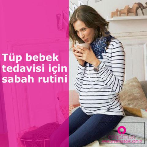 Tüp bebek sürecinde başarı şansınızı sabah rutininize bu 4 değişikliği yaparak artırın
